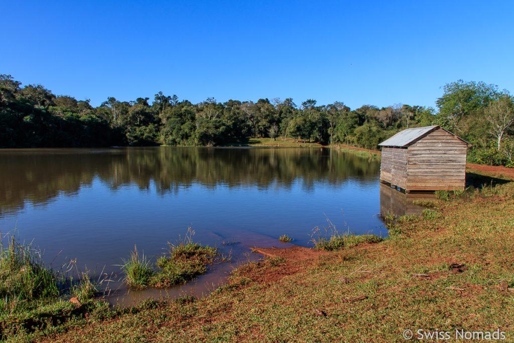Bootshaus der Hostettler Farm in Parguay