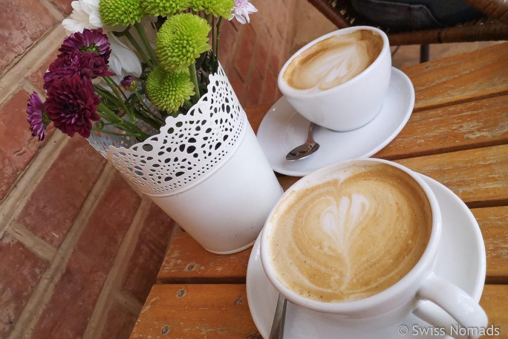 Das Cafe Adina in Filadelfia