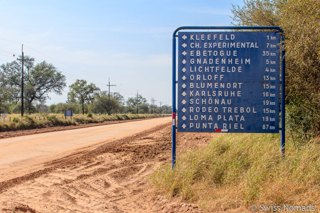 Orte Chaco Paraguay