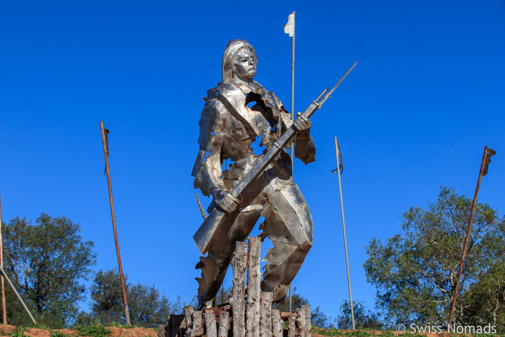 Fortin Boqueron im Chaco von Paraguay