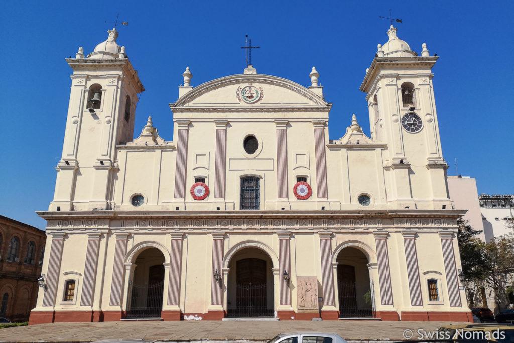 Kathedrale im Zentrum Asuncion