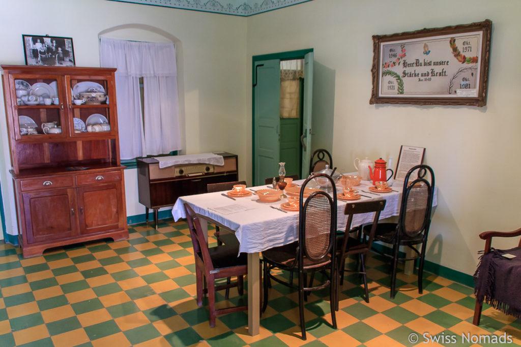 Das Knelsen Haus ist eine Sehenswürdigkeit in Filadelfia