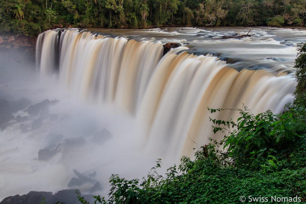 Der Nacunday Wasserfall ist einer der schönsten in Paraguay