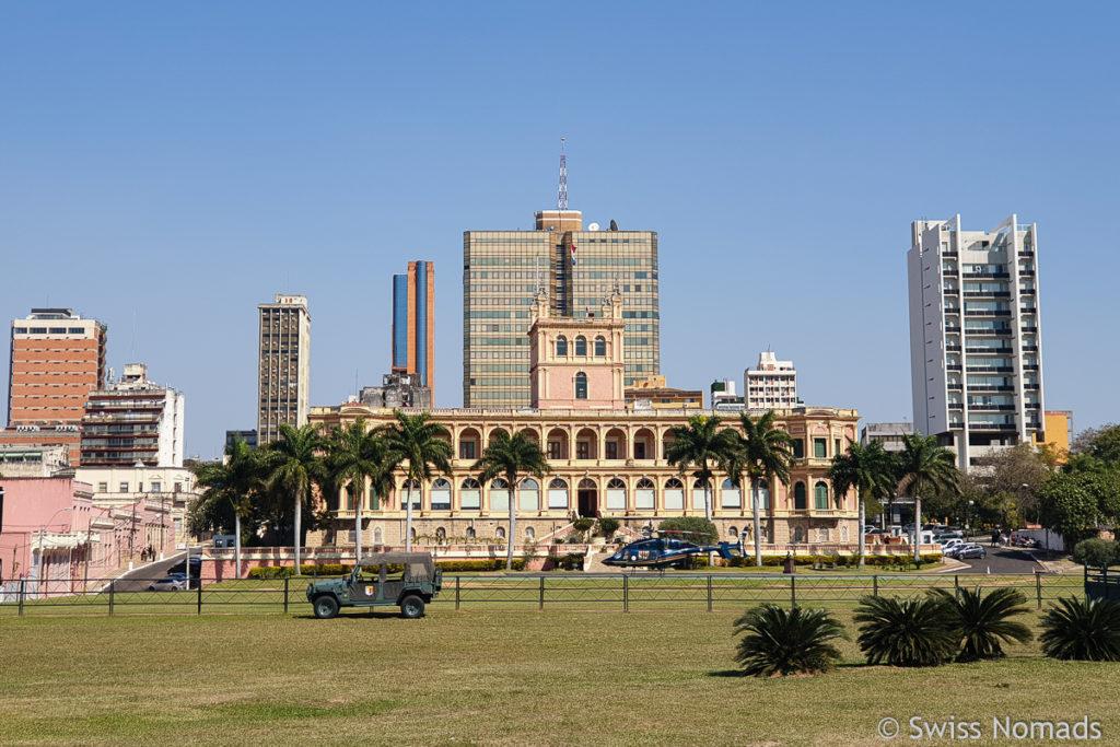 Regierungssitz Palacio Lopez