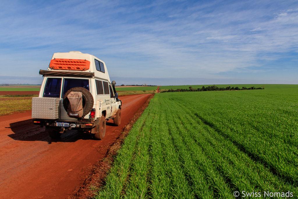 Die Strassen in Paraguay