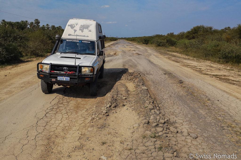 Trans-Chaco Ruta Nacional 86