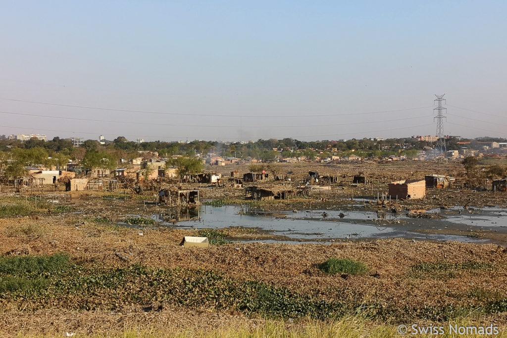 Slums bei Asuncion