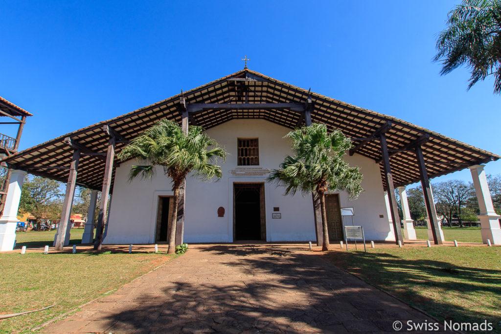 Die Kirche in Yagueron ist eine Sehenswürdigkeit in Paraguay