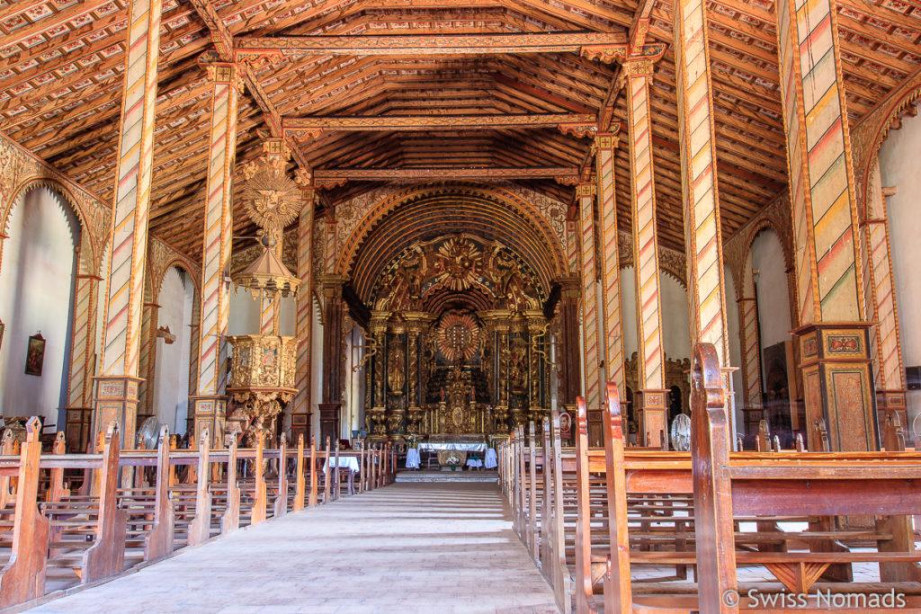 Die schöne Yagueron Kirche
