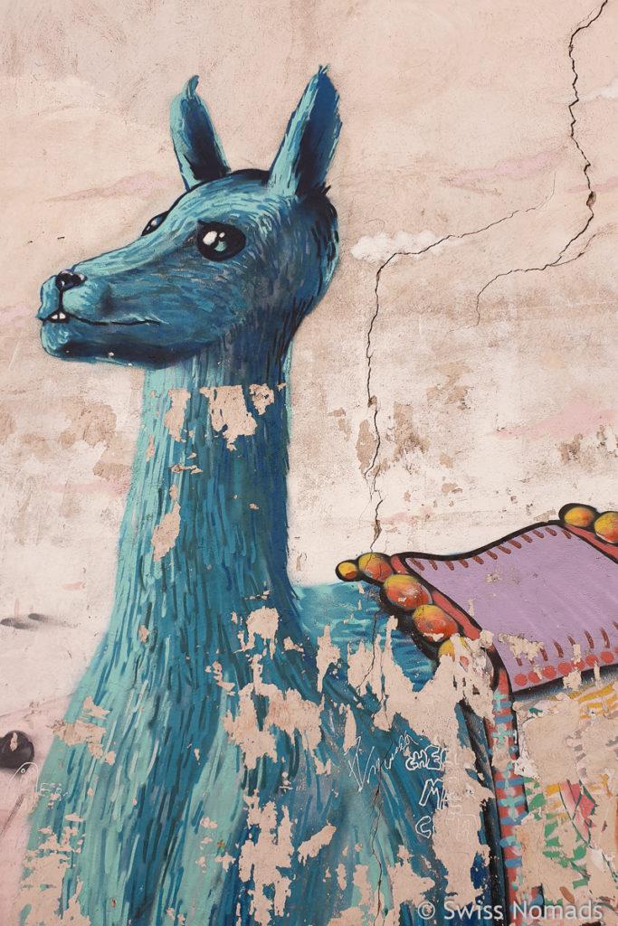 Lama Street Art