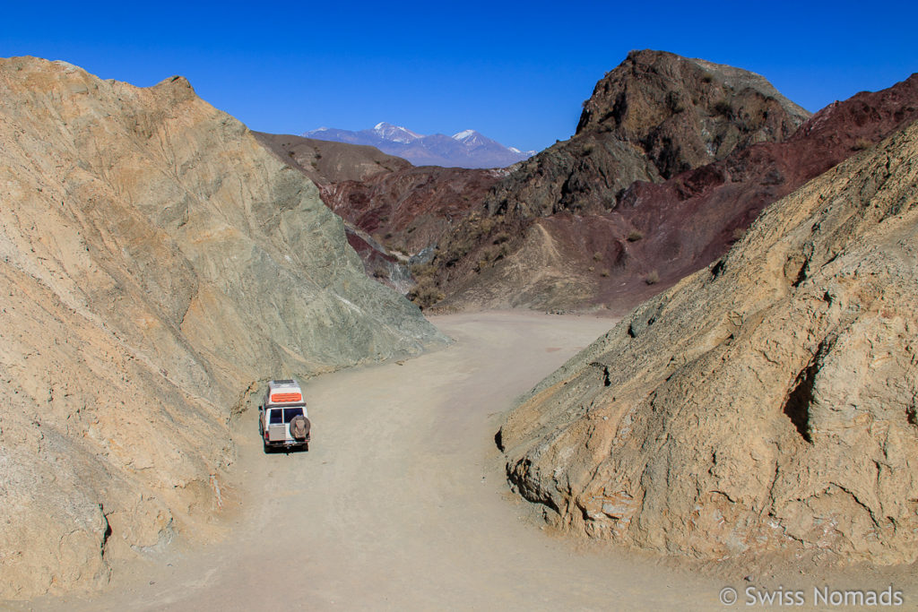 Aussicht vom Cerro Alcazar bei Calingasta