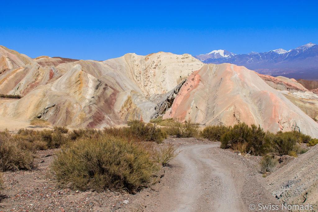 Cerro de los Siete Colores in Calingasta