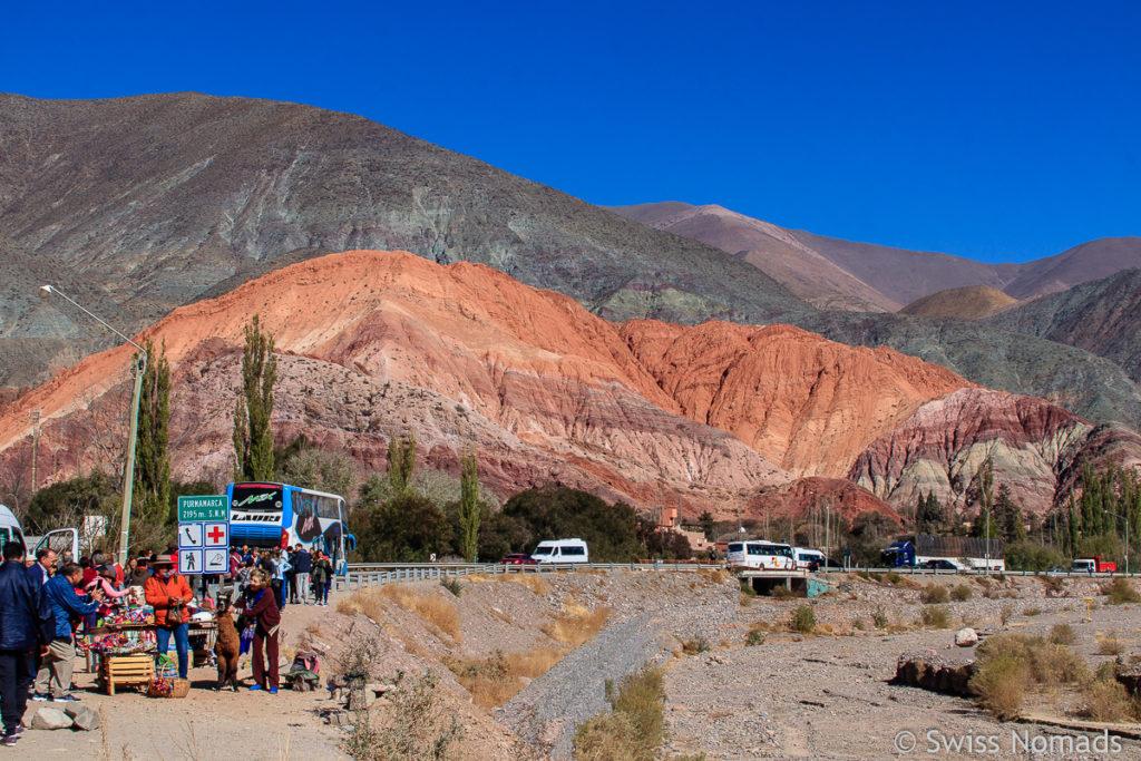 Der Cerro de los Siete Colores Purmamarca