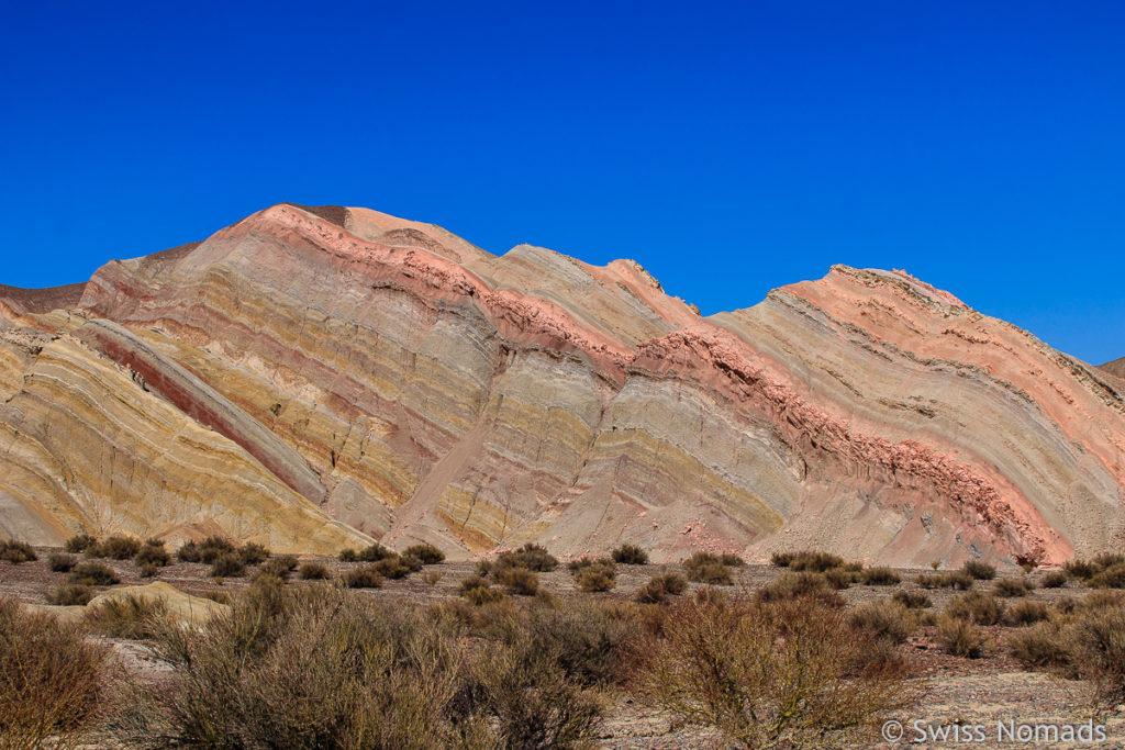 Cerro de los Siete Colores in Argentinien