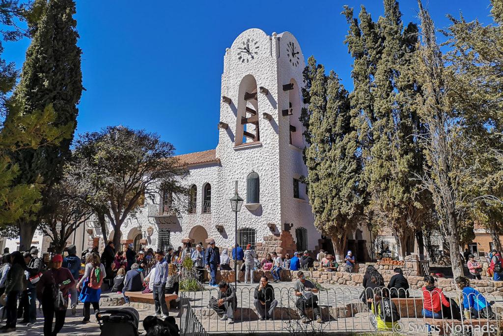 Das Cabildo (Rathaus) in Humahuaca