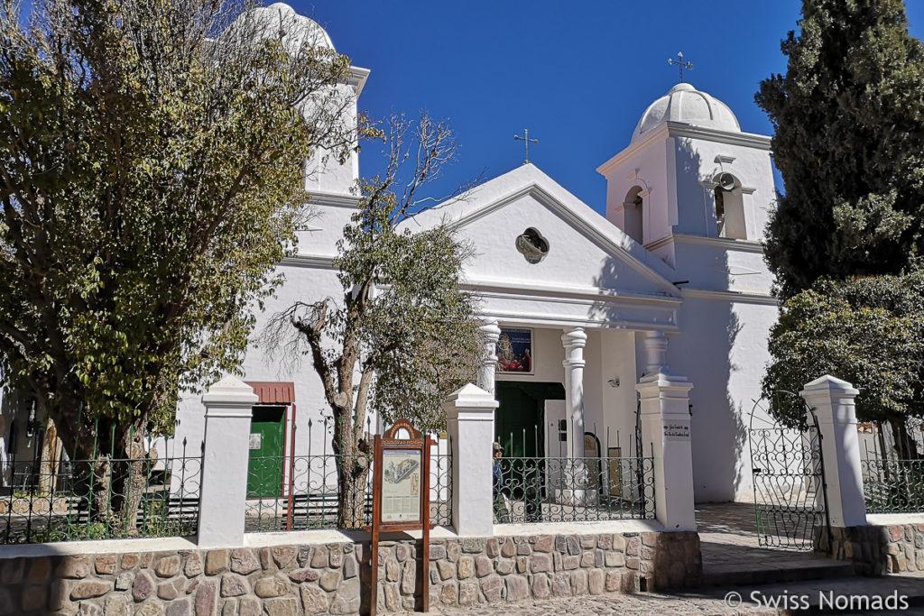 Die Kirche in Humahuaca