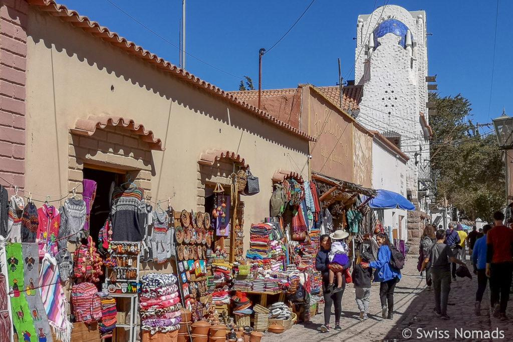 Die Suvenir Läden in Humahuaca