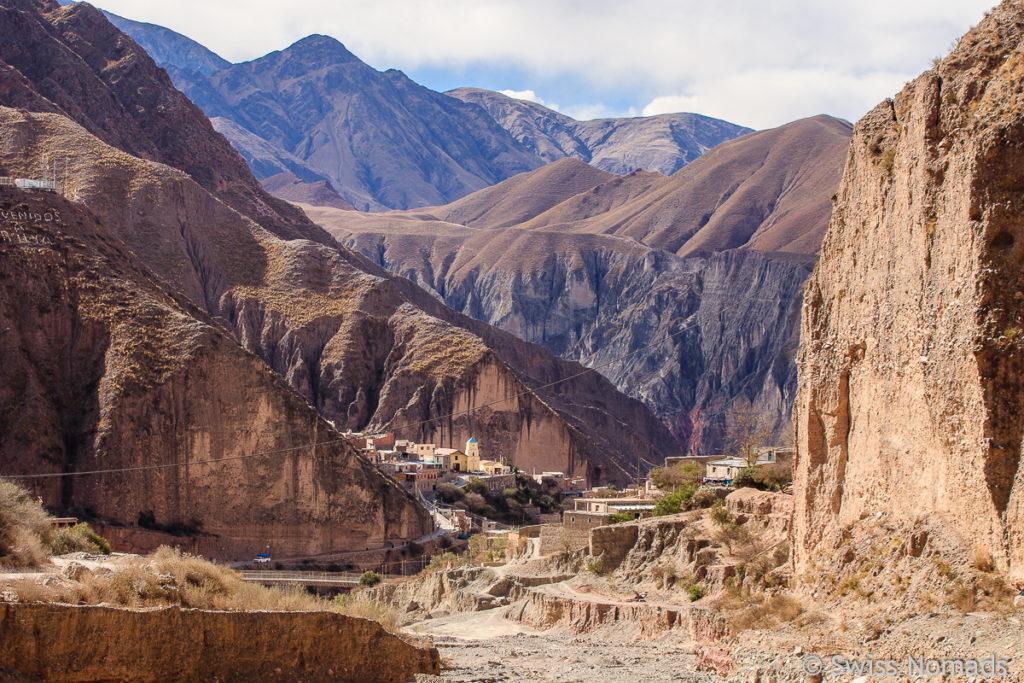 Iruya in Argentiniens Nordwesten