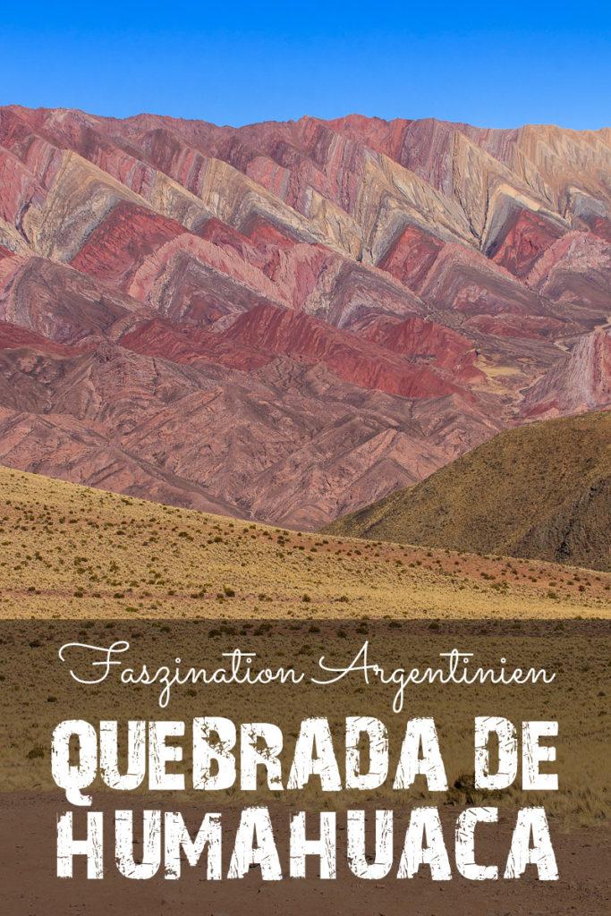 Quebrada de Humahuaca - Tal in Argentinien
