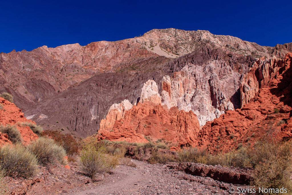 Wanderung in der Quebrada de las Senoritas