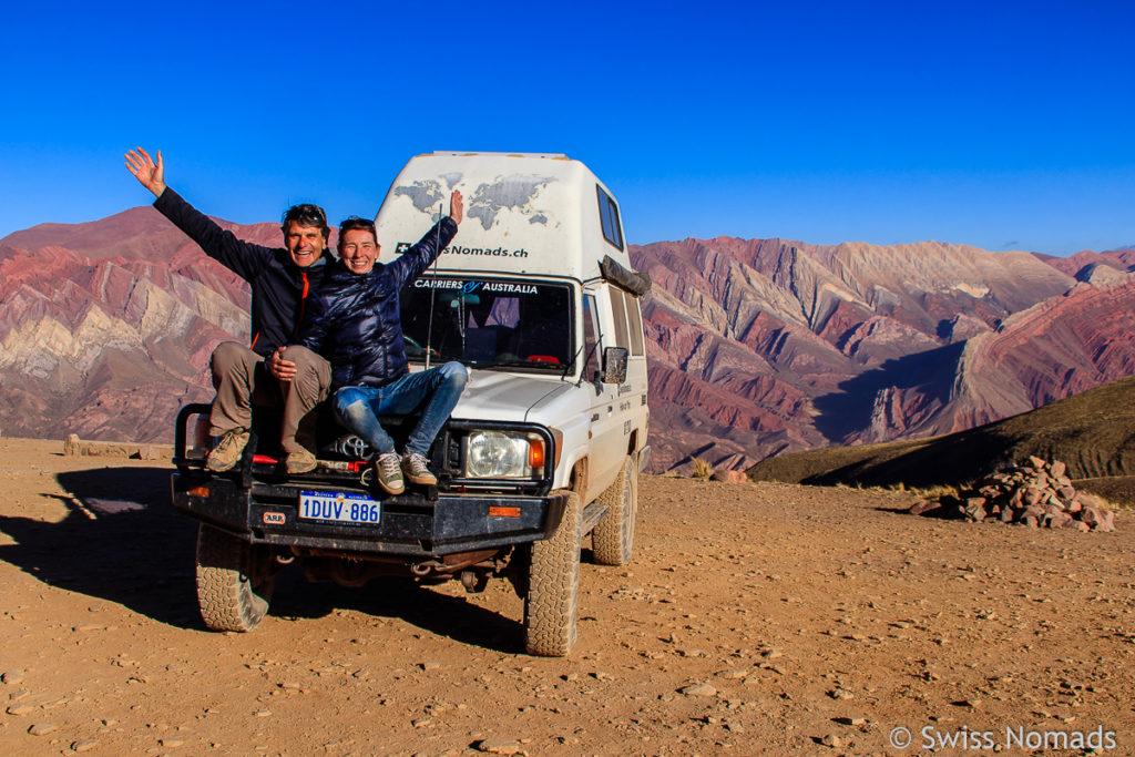 Quebrada de Humahuaca Hornacol in Argentinien