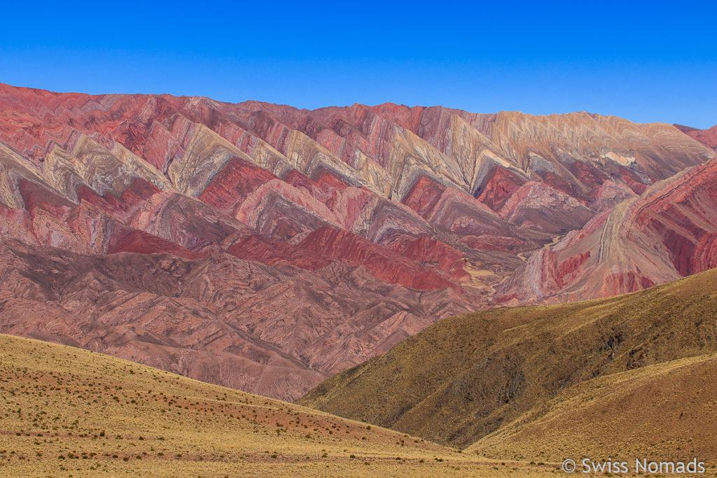 Detailaufnahme der Serrania de Hornocal