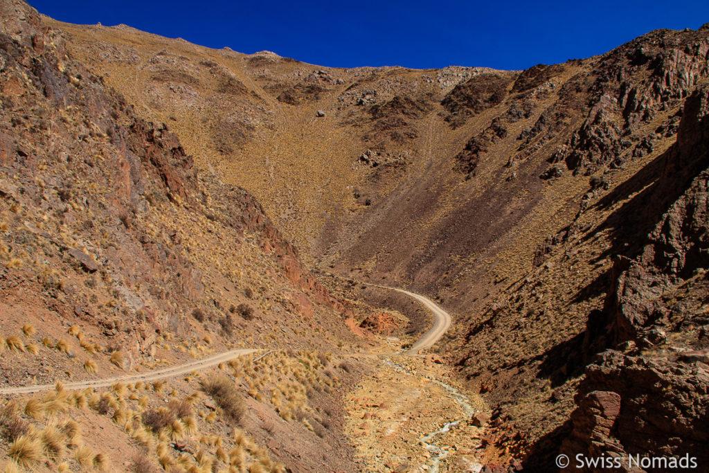 4WD Track zur Mina La Mejicana