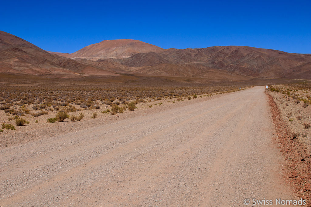 Anfahrt zum Abra del Acay von Norden