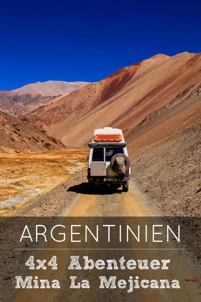 4WD Track zur Mina La Mejicana in Argentinien
