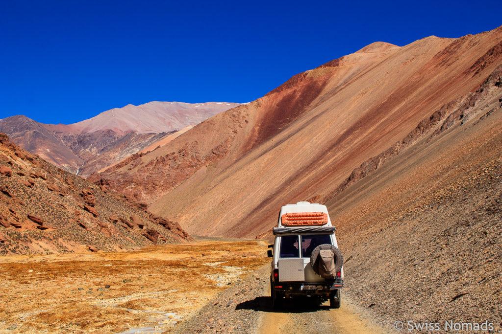 4WD Abenteuer zur Mina La Mejicana