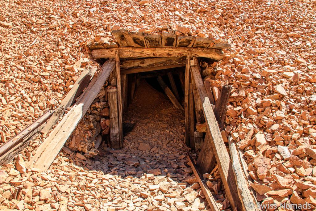 Stollen der Mine La Mejicana