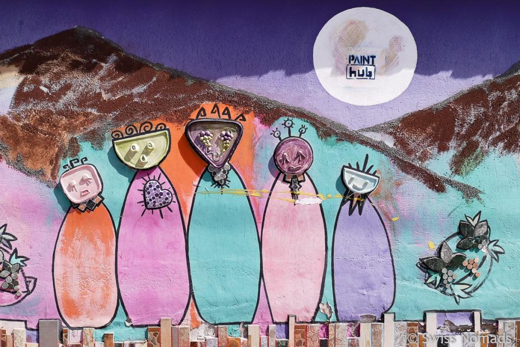 Street Art Cafayate Argentinien