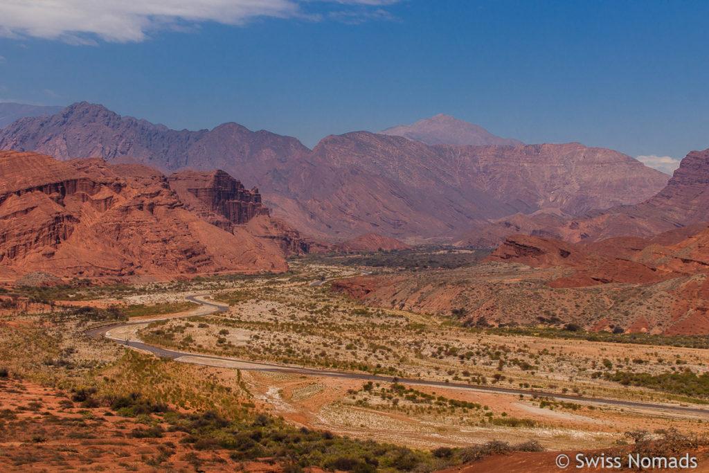 Valles Chalaquies Cafayate Argentinien