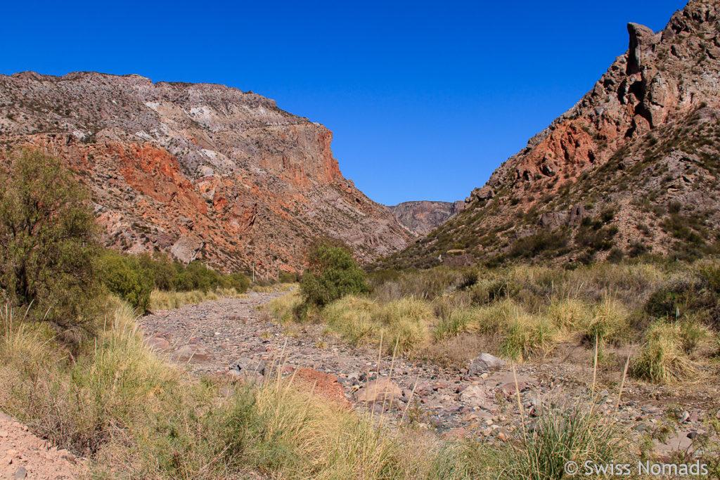 Oberer Teil des Atuel Canyon