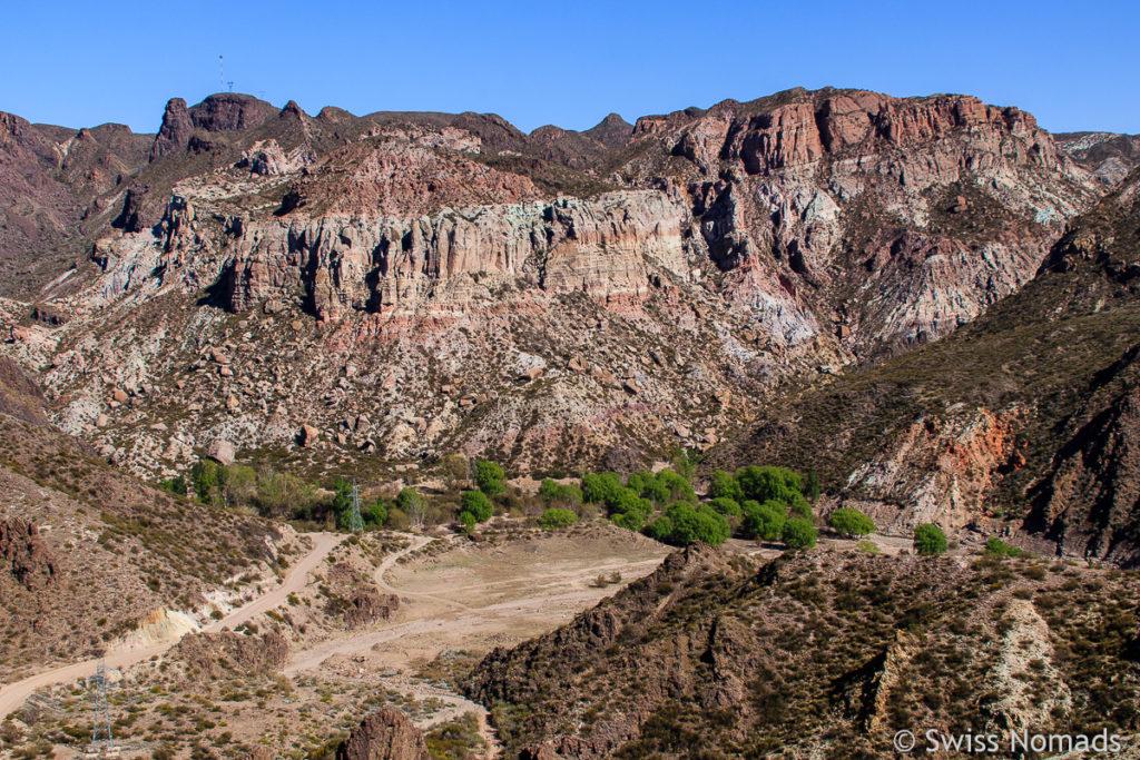 Aussicht in den Atuel Canyon