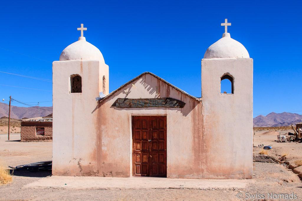 Kirche in der Puna in Argentinien
