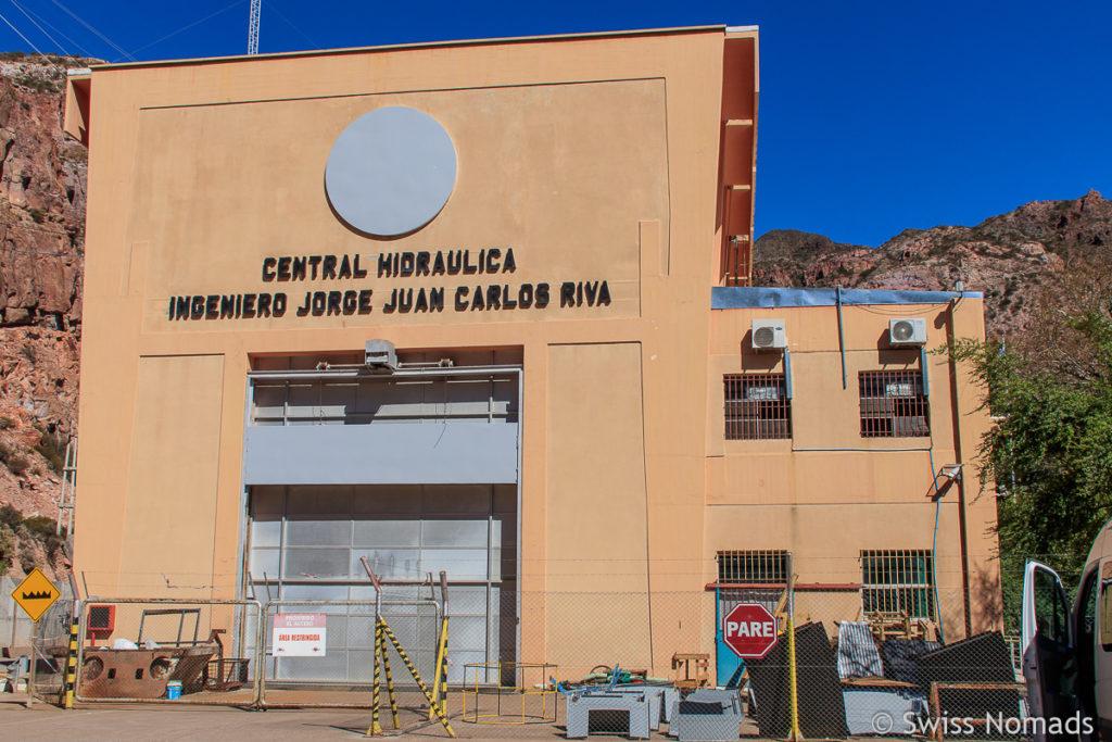 Kraftwerk im Atuel Canyon