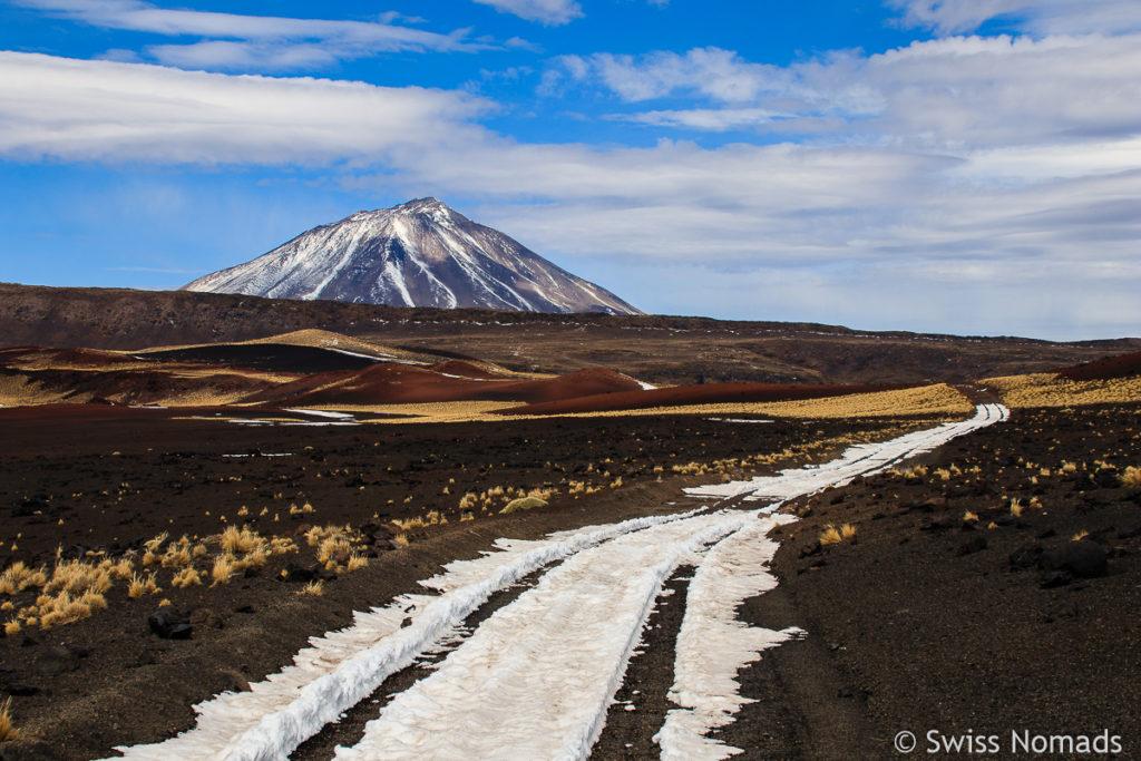 Payun Lisu Vulkan Landschaft