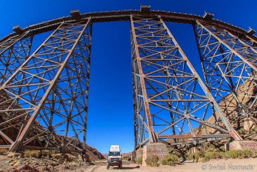 Viadukt la Polvorilla Argentinien