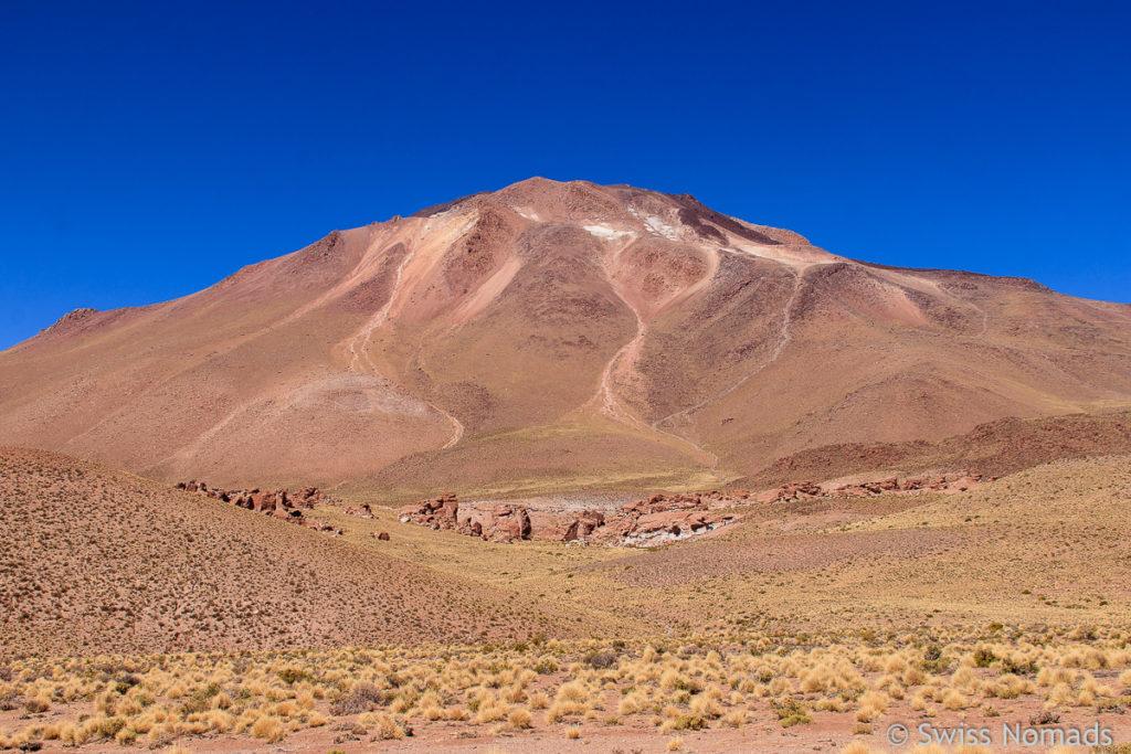 Vulkan Cerro Tuzgle Argentinien