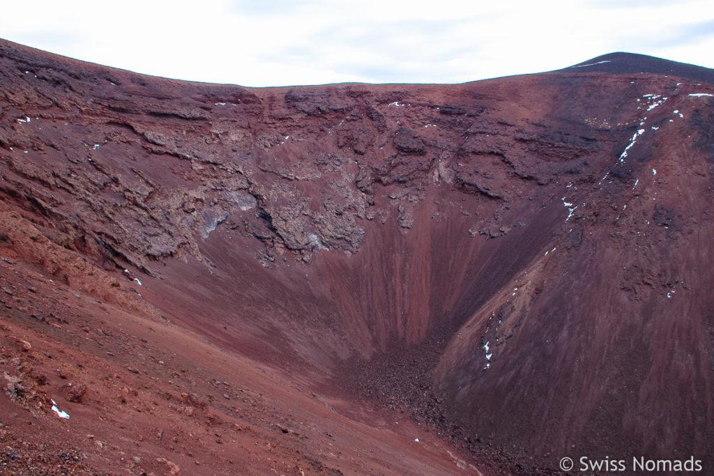 Vulkankrater Morado