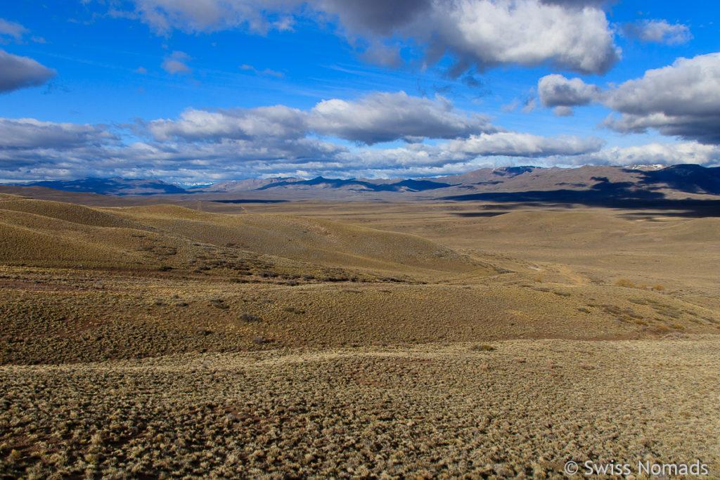 Landschaft im Chubut Patagonien