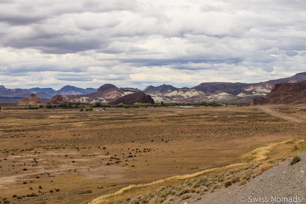Ruta 12 im Chubut Tal