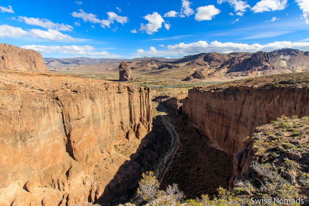 Piedra Parada Aussicht in die Schlucht