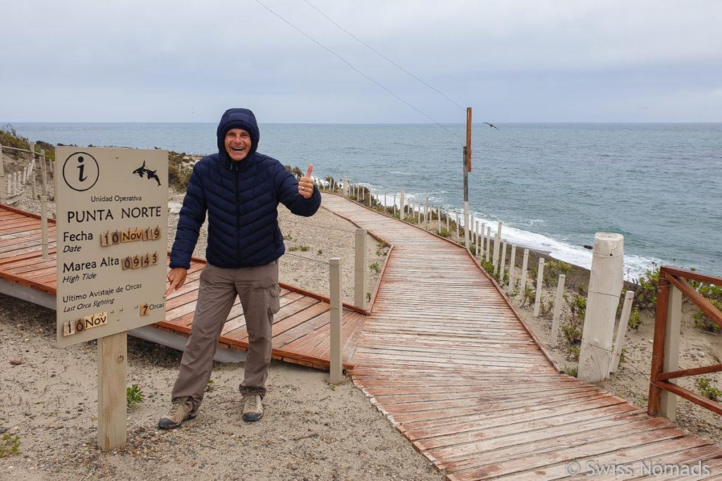 Punta Norte auf der Halbinsel Valdes