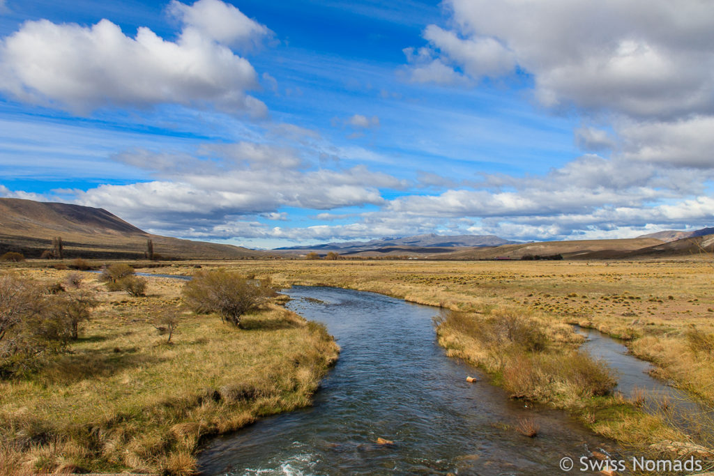 Rio Chubut in Patagonien