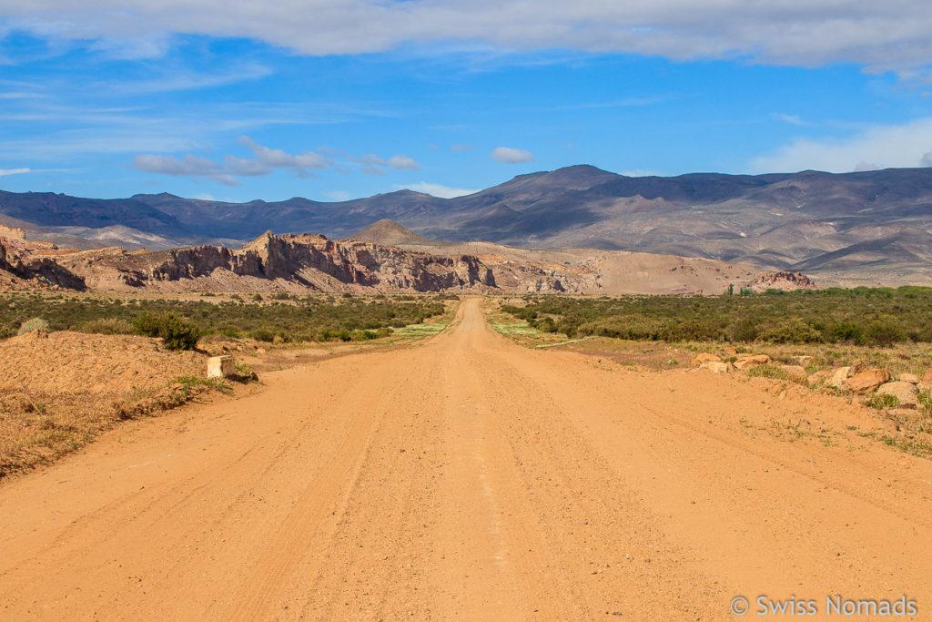 Ruta 12 im Chubut