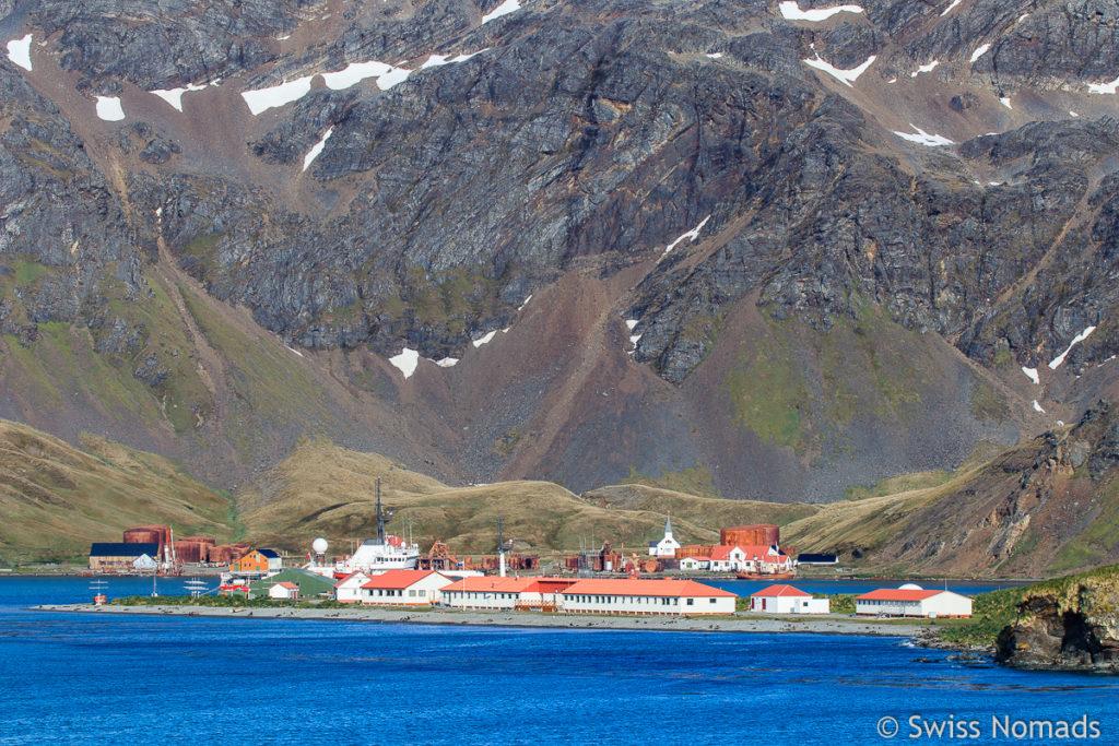 Grytviken in Südgeorgien