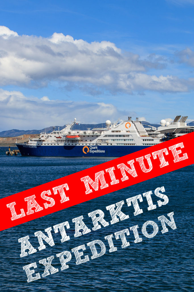 Last Minute Antarktis Expedition