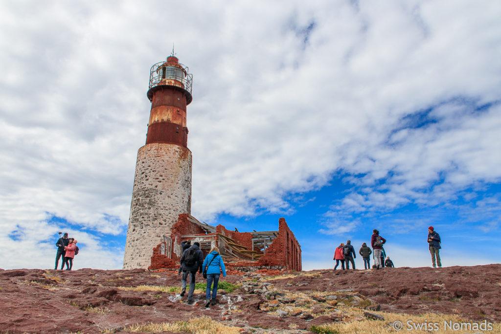 Leuchtturm Isla Pinguino